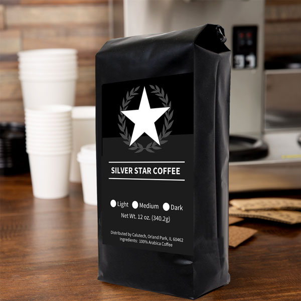 Silver Star Coffee Bag